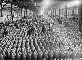 Fabrication d'obus 14-18