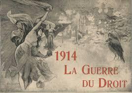 1914 La guerre du droit